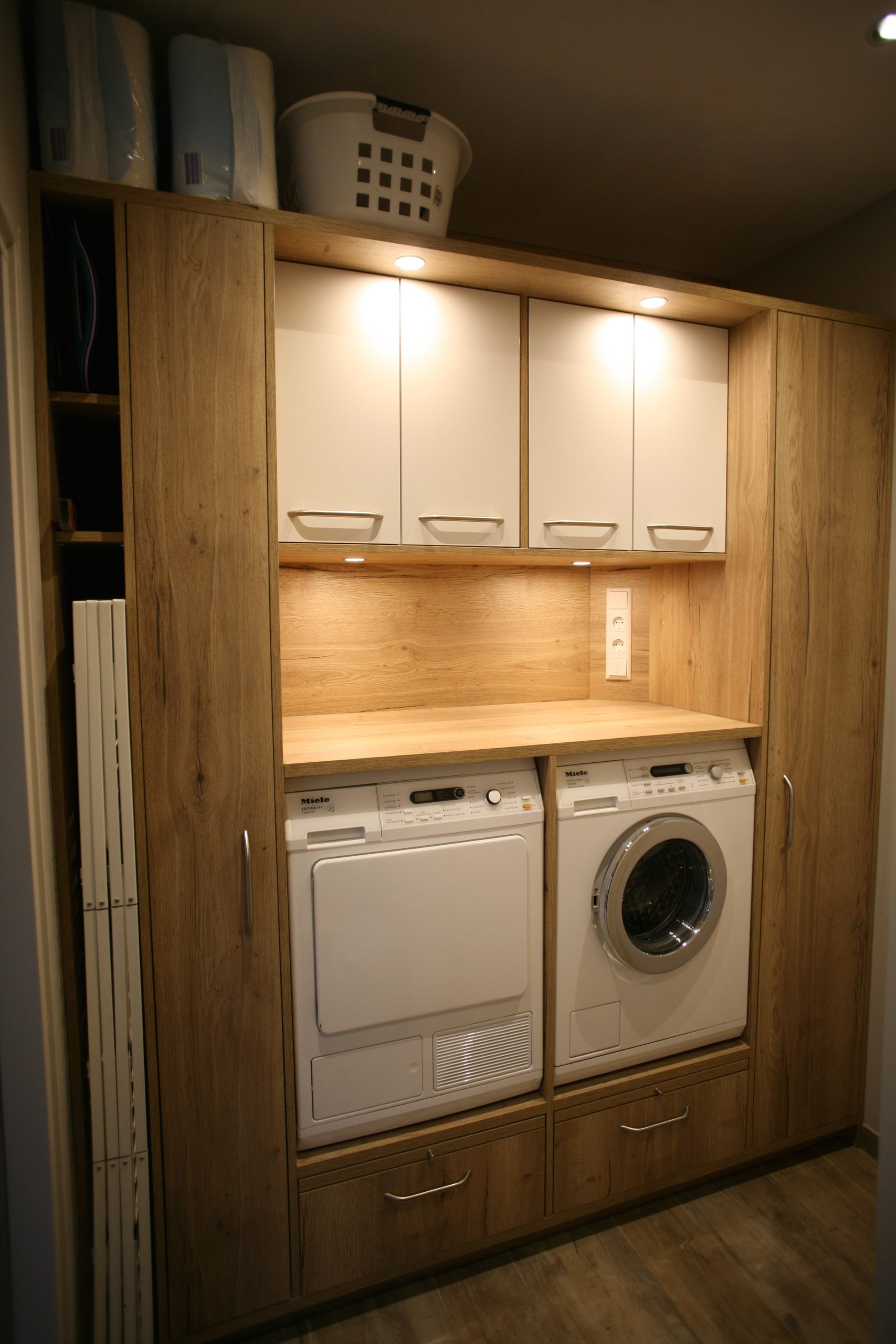 Wasmachine kast zelf maken